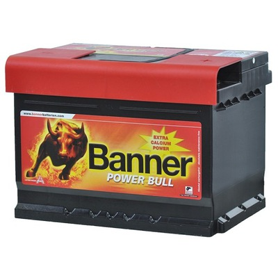 BANNER POWER BULL 62AH 540A, фото