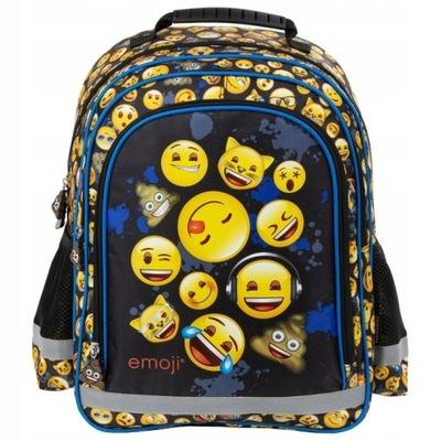 Plecak szkolny Derform Emoji 12 emonki