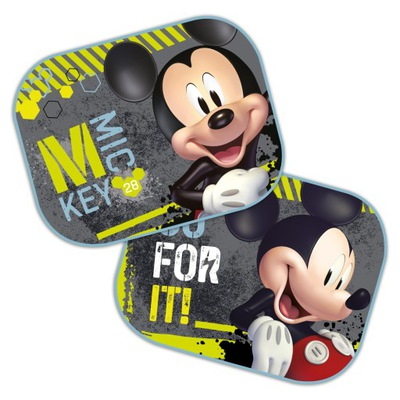 ZASŁONKI OSŁONKI przeciwsłoneczne na szyby Mickey