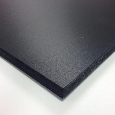 PCW spienione PCV 1000x750 3 mm czarny płyta PVC