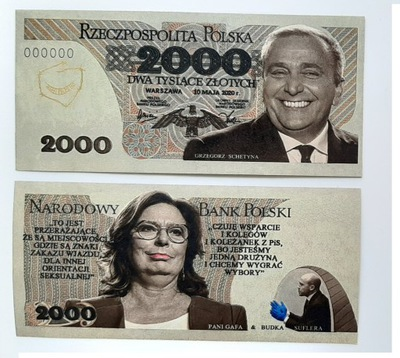??? Тысячи рублей - Схетина и Kidawa-Błońska 2020