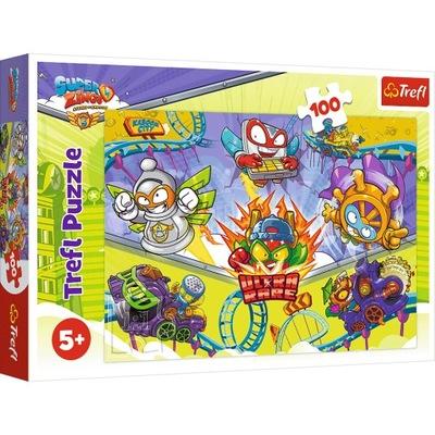 Puzzle 100el Zwariowane Super Zings 16507 TREFL