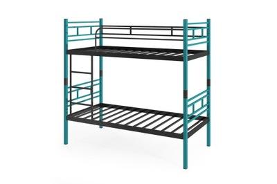 кровать КРОВАТЬ металлические AGNES ЛУННЫЙ БИРЮЗОВЫЙ 90 см