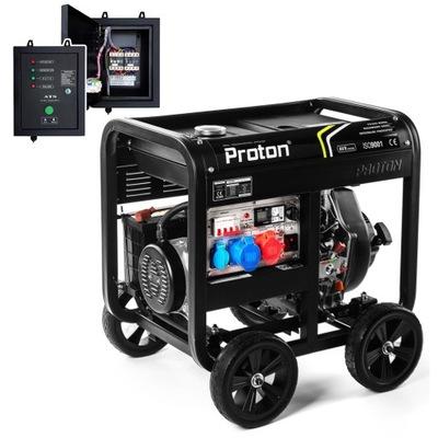 Mocny Agregat Prądotwórczy Diesel 10.6kVA DUAL AVR