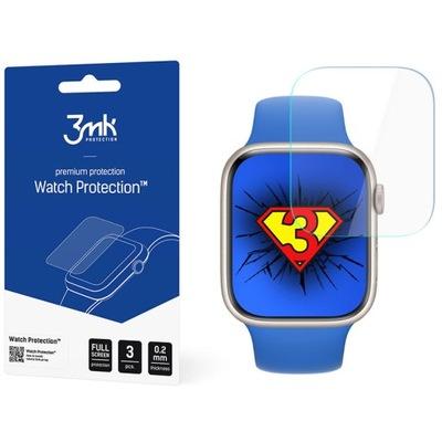 Folia ochronna 3mk do Apple Watch 7 45mm, 3 szt