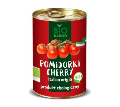 Pomidorki Cherry BIO Naturo