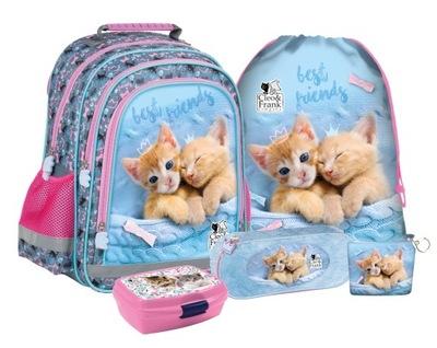 Školský batoh Školský batoh pre dievča s mačkou Mačiatka
