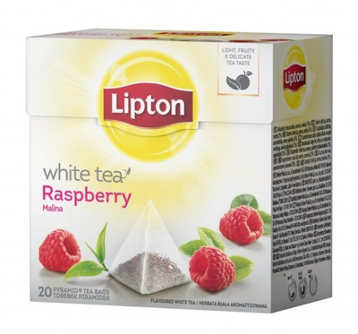 ??? Липтон ПИРАМИДЫ WHITE TEA 20т. белая малина