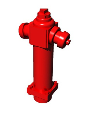 Hydrant wzór 01 1:120