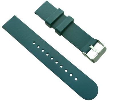 Morski pasek silikonowy do zegarka Rubicon 20mm