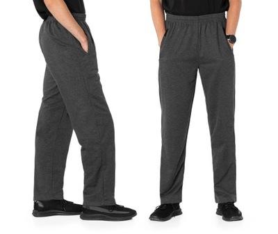 Spodnie Dresowe Męskie Dresy Sportowe 46322-3 XL