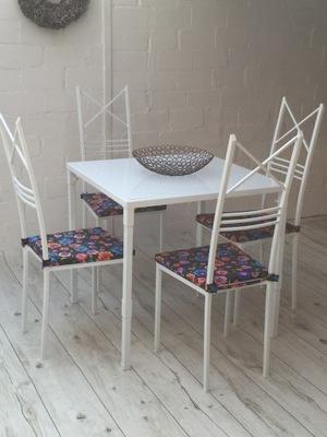 стол 80x80 см 4 стулья Артистизм Сиденье Материал