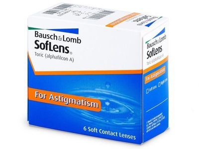 Bausch and Lomb SofLens Toric (6szt) -6.50, -1.25