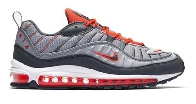 Nike Air Max 98 Męskie Biało Czarne (640744 015)
