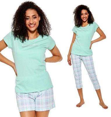 Piżama damska 3-częsciowa Cornette Let Me Sleep L