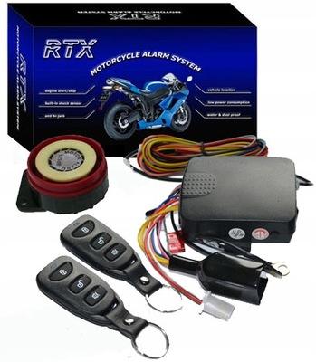 RTX AM5 -ALARM Z ODPALANIEM DO SKUTERA I MOTOCYKLA