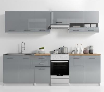 Мебель Кухонные комплект отделанной Кухня лак