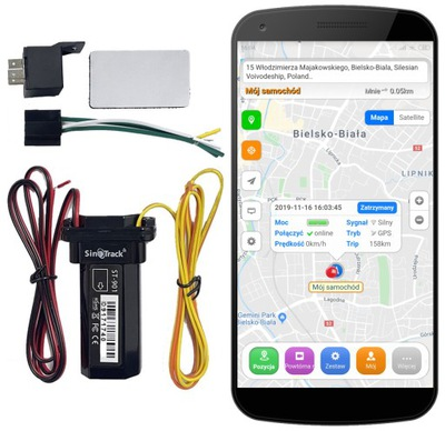LOCALIZADOR GPS IMPERMEABLE ODCIECIE COMBUSTIBLES AUTO