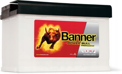 BANNER POWER BULL PRO 100Ah 820A