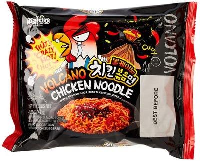 супер острая ??? Paldo Вулкан Chicken Noodle