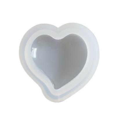 BFS170 Форма силиконовая для смол сердце 52мм