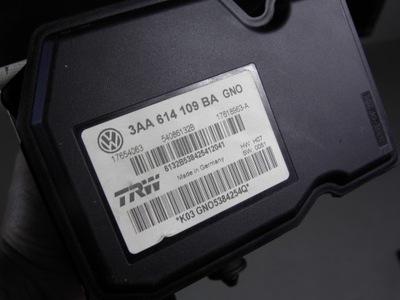 VW PASSAT B7 // НАСОС ABS 3AA614109BA
