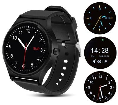 SMARTWATCH zegarek męski krokomierz tętno opaska