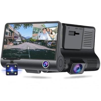 Wideorejestrator 3w1 Samochodowy FullHD 1080p 170°