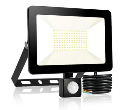 Lampa Naświetlacz LED 50W CZUJNIK RUCHU CERTYFIKAT