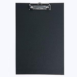 Podkładka Deska CLIPBOARD PVC A5 z klipem CZARNA