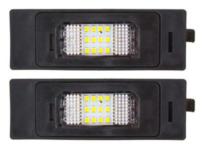 ПОДСВЕТКА LED (СВЕТОДИОД ) НОМЕРА ALFA 147 156 159 MITO GT