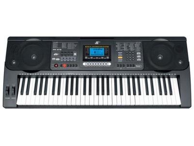Keyboard Organy 61 Klawiszy Zasilacz MK-812