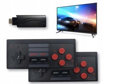 BEZPRZEWODOWA KONSOLA RETRO 628 GIER HDMI HD 4K