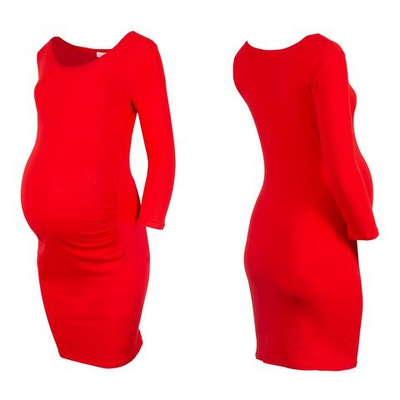Sukienka ciążowa bawełniana M/L LM334