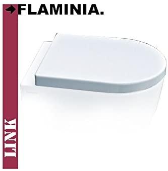 WC sedadlo a WC sedadlo Flaminia 5051 biele 36x43,5 cm