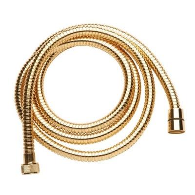 Retro zlatá sprchová hadica 120 cm pevná IntimSpa