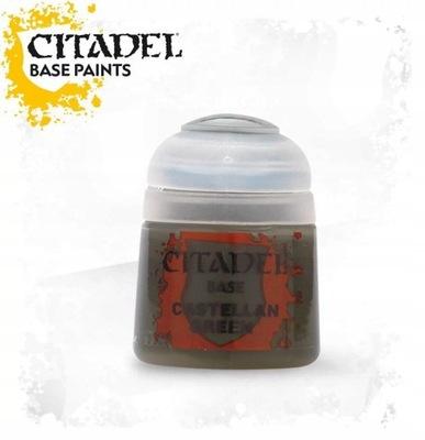 CITADEL BASE PAINT Castellan Green