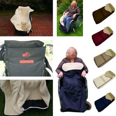 Super ciepły śpiwór na wózek inwalidzki