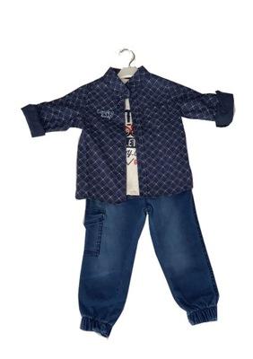 3-częściowy komplet z koszulą dla chłopca (3 l.)