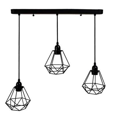 Stropné svietidlo loft black loftowa moderný luster