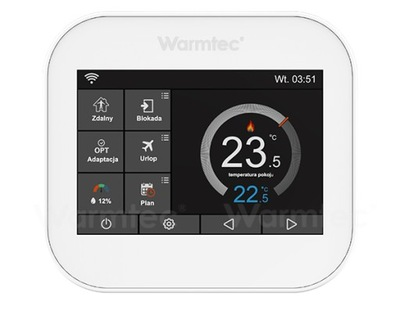 Regulator sterownik temperatury WARMTEC ITS z WiFi