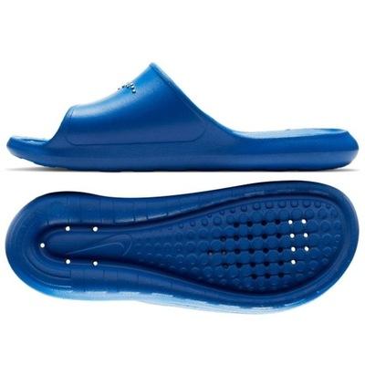 *Klapki Nike Victori One CZ5478 401 NIEBIESKI; 46