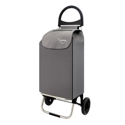 Wózek torba na zakupy na kółkach RIO 50 L szary