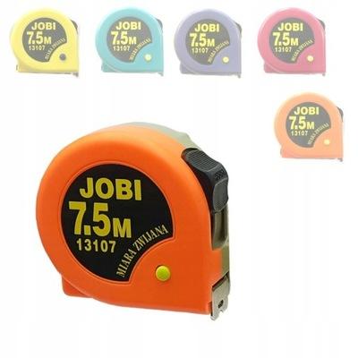 Miara miarka zwijana taśma 7.5M 25mm Jobi 13107