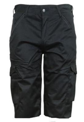 ШОРТЫ черные короткие брюки О 34 / пояс 92