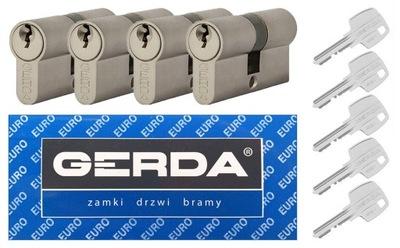 Komplet wkładek GERDA WKE1 SYSTEM 30/30 4 szt.
