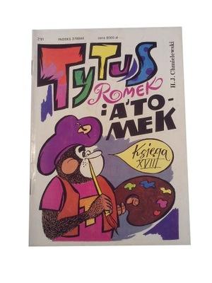 TYTUS księga XVIII 1991 r.