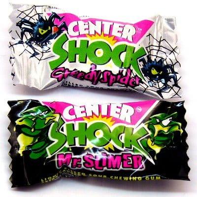 супер Сладкий резинка Center Shock ЧерныйБелый 10 штук