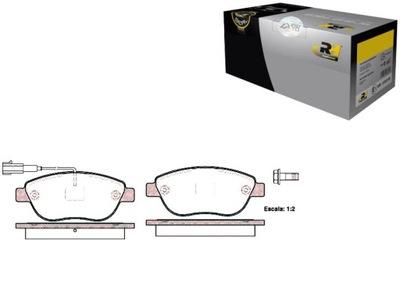 КОЛОДКИ ДИСКОВЫЕ ТОРМОЗНОЕ FIAT GRANDE PUNTO 1.3 D MULTIJET