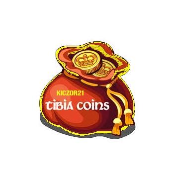 Tibia Coins, 25TC ! Wszystkie serwery!